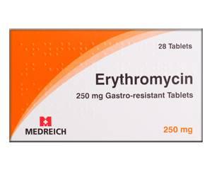 Erytromycine bestellen
